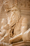 The Moses by Michelangelo Royalty Free Stock Photo