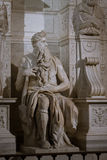 Moses by Michelangelo royalty free stock image