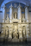 Moses by Michelangelo in San Pietro in Vincoli, Rome, Italy Stock Photos