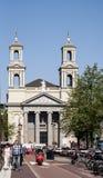 Moses och Aaron kyrka på den Waterloo fyrkanten Arkivfoto