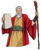 Moses Portrait Illustration Immagini Stock Libere da Diritti
