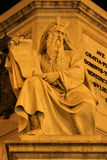 Moses - Rome - detail of monument. By Spain stairs Royalty Free Stock Photos
