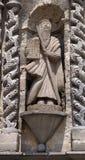 Moses skulptur Arkivbilder