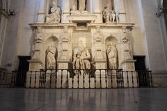 The Moses in St. Peter Vincoli church Stock Photos