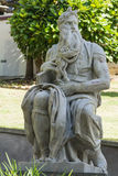 Moses Statie by Michelangelo in Myers Park, Auckland. Royalty Free Stock Images