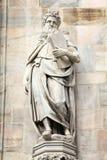 Moses-Statue Stockbild