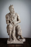 Moses-Statue Lizenzfreies Stockfoto