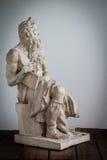 Moses-Statue Lizenzfreie Stockfotografie