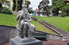 Moses-Statue in Auckland Neuseeland Stockbild
