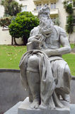 Moses statue in Auckland New Zealand Royalty Free Stock Image