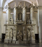 Moses statue by Michelangelo. Inside Church of St Peter in Chains Stock Images