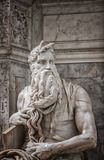 Moses statue Royalty Free Stock Photo