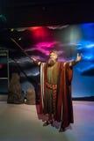 Moses-Wachsfigur Lizenzfreies Stockfoto