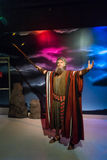 Moses wax figure. Los Angeles, CA, USA - 6th July 2013: Madame Tussauds Hollywood figures - Moses Royalty Free Stock Photo