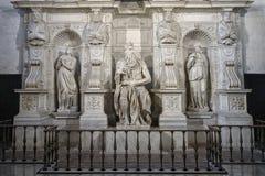 Mosesen av Michelangelo Arkivbild