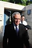 Moshe Katzav - 8ème président de l'Israël Images libres de droits