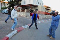 Moshe Katzav - 8. Präsident von Israel Stockbild
