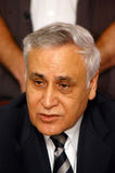 Moshe Katzav - 8th President of Israel Royalty Free Stock Images