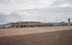 Moshoeshoe 1 aéroport international, Lesotho Images stock