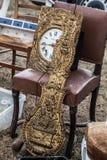 Mosiądza zegar w częściach dla zegarowego konesera Obraz Royalty Free