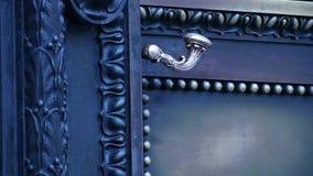 Mosiężny antykwarski drzwi zdjęcie wideo