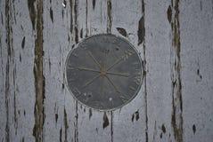 Mosiężny cyrklowy medalion Zdjęcie Royalty Free