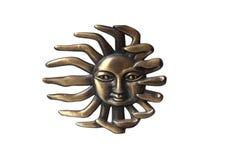 mosiężny słońce zdjęcia royalty free