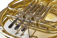 mosiężny szczegółu rogu srebro Zdjęcia Royalty Free