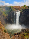 Mosi-oa-Tunya, Victoria Falls, one of the natural wonders of the world Stock Photos