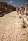 Mosiac street Ephesus Turkey Royalty Free Stock Images