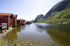 mosjon挪威 免版税库存照片