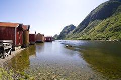 Mosjon en Noruega Fotos de archivo libres de regalías