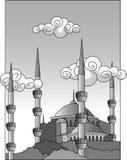 moské royaltyfri illustrationer