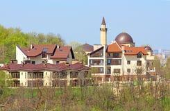 Moské Ar-Rahma (arabiskan - välgörenhet), Kyiv, Ukraina Royaltyfria Foton