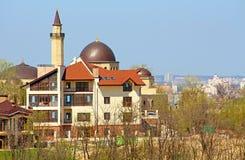 Moské Ar-Rahma - den första moskén i Kyiv, Ukraina Royaltyfria Bilder