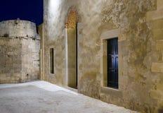 Moské av den JanissariesChania Kreta Grece Arkivbilder