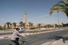 Moské av den Tiznit staden, Marocko Royaltyfri Bild