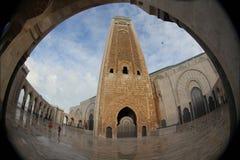 Moské av Hassan II i Casablanca Royaltyfri Bild