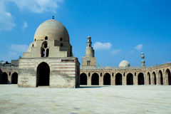 Moské av ibntulun, cairo, Egypten Royaltyfri Foto