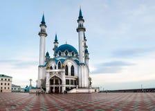 Moské av Kul-Sharif i Kazan kremlin, Ryssland arkivfoton