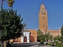 Moské av Marrakech arkivfoton