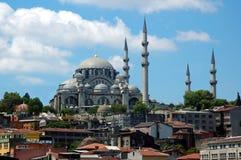 Moské av Suliman det storartat arkivfoton