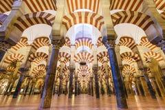 Moské-domkyrka av Cordoba, Spanien Royaltyfri Fotografi