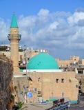 Moské El-Jazzar Arkivfoto