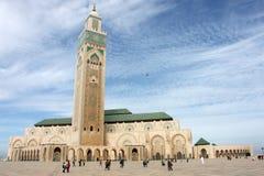 moské för 2 casablanca hassan ii Fotografering för Bildbyråer