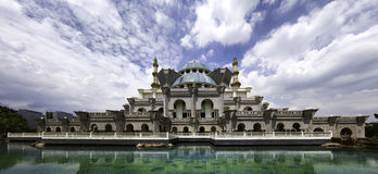 Moské för federalt territorium royaltyfri foto