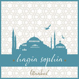Moské för Istanbul hagiasophia Royaltyfria Foton