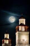 Moské för konung Hussain Arkivfoto