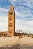 Moské för Marrakesh Molay alyazid Arkivbilder