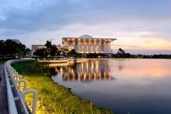 Moské för mosqueiron för Tuanku mizan zainalabidin royaltyfri fotografi